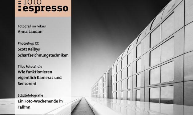 Fotoespresso 6/2017 steht zum Donwload bereit