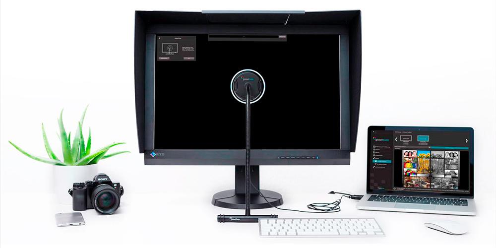 Monitorkalibrierung Globell Color: Jetzt mit Distanzmessung und Hardware-Unterstüzung für Eizo