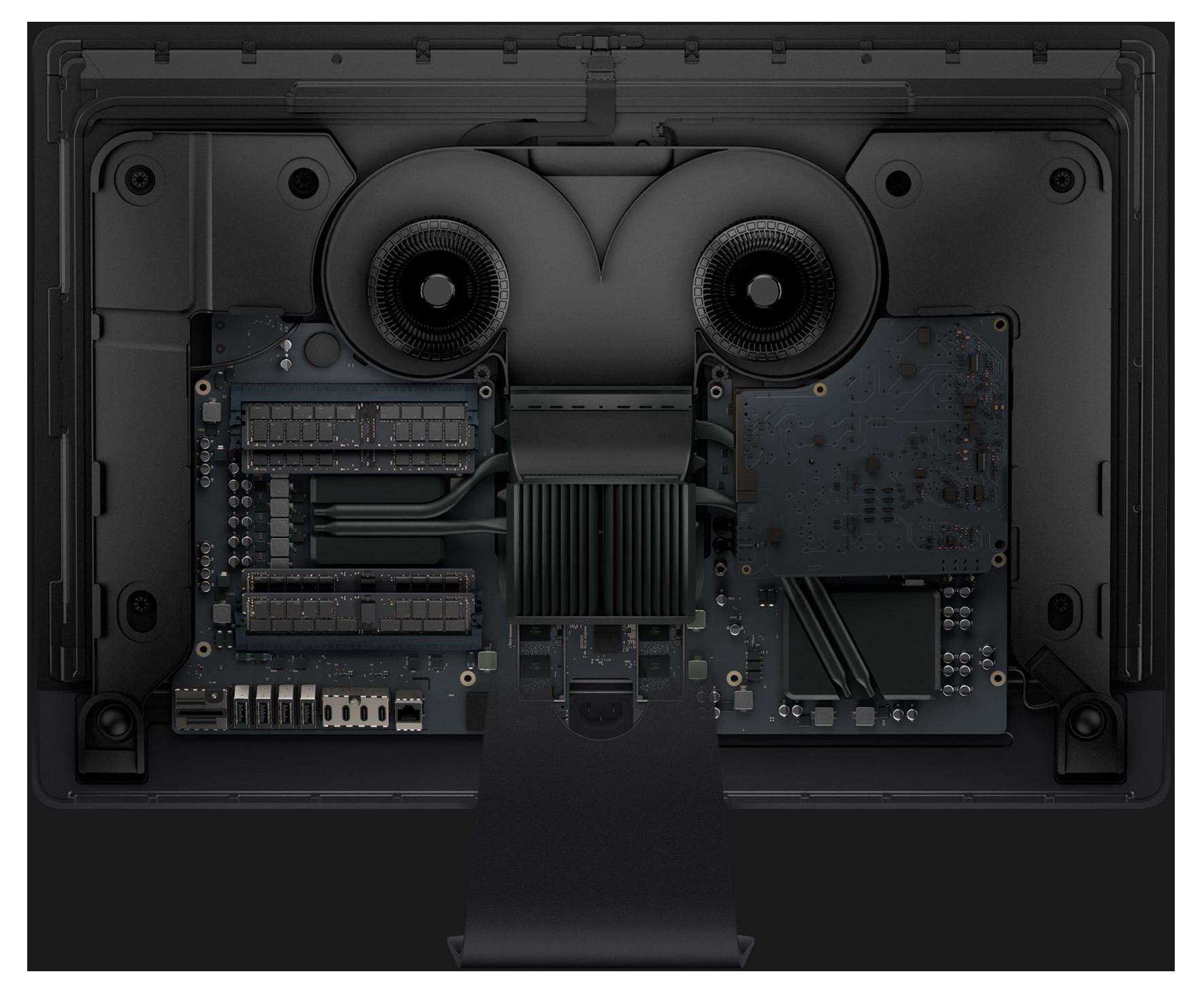 iMac Pro Rückseite