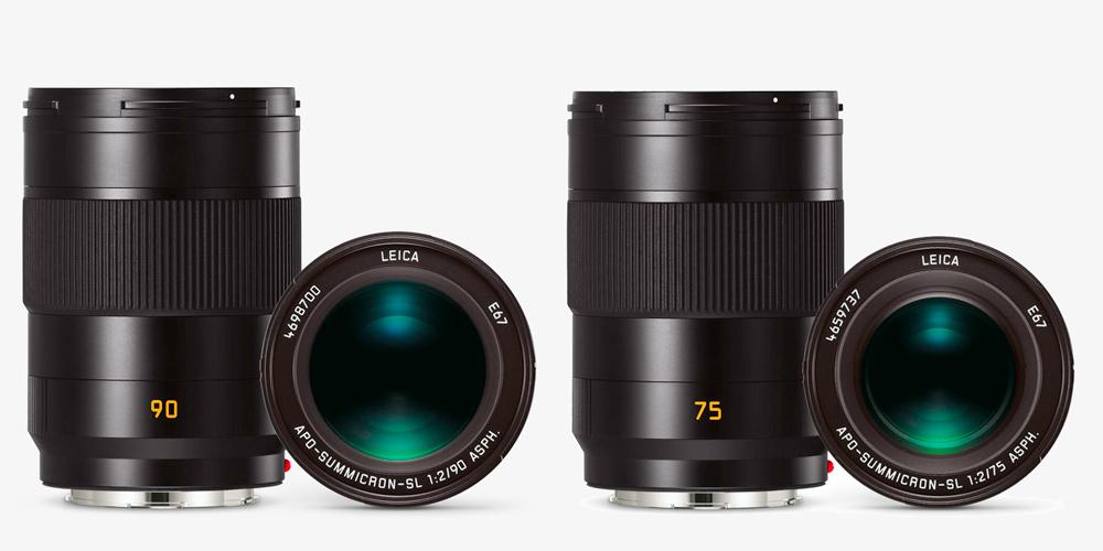 Zweimal Summicron für Leica SL: 1:2/75 und 1:2/90 vorgestellt