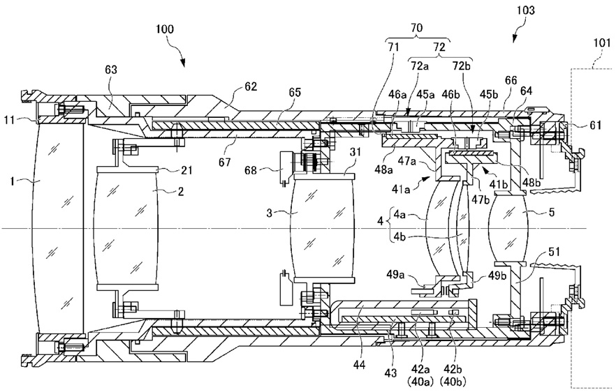 Nikon AF-Antrieb Patent