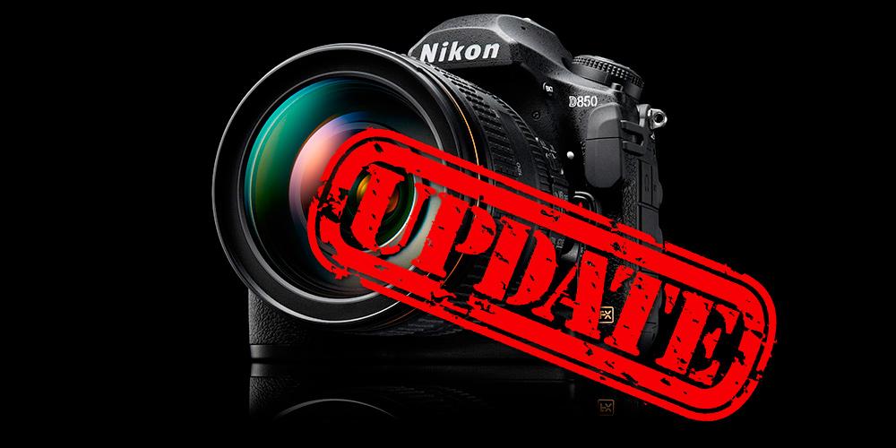 Nikon D850: Firmware 1.01 veröffentlicht