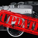 Firmware-Updates von Fujifilm: Neue Funktionen für X-E3, Bugfix für X-Pro2