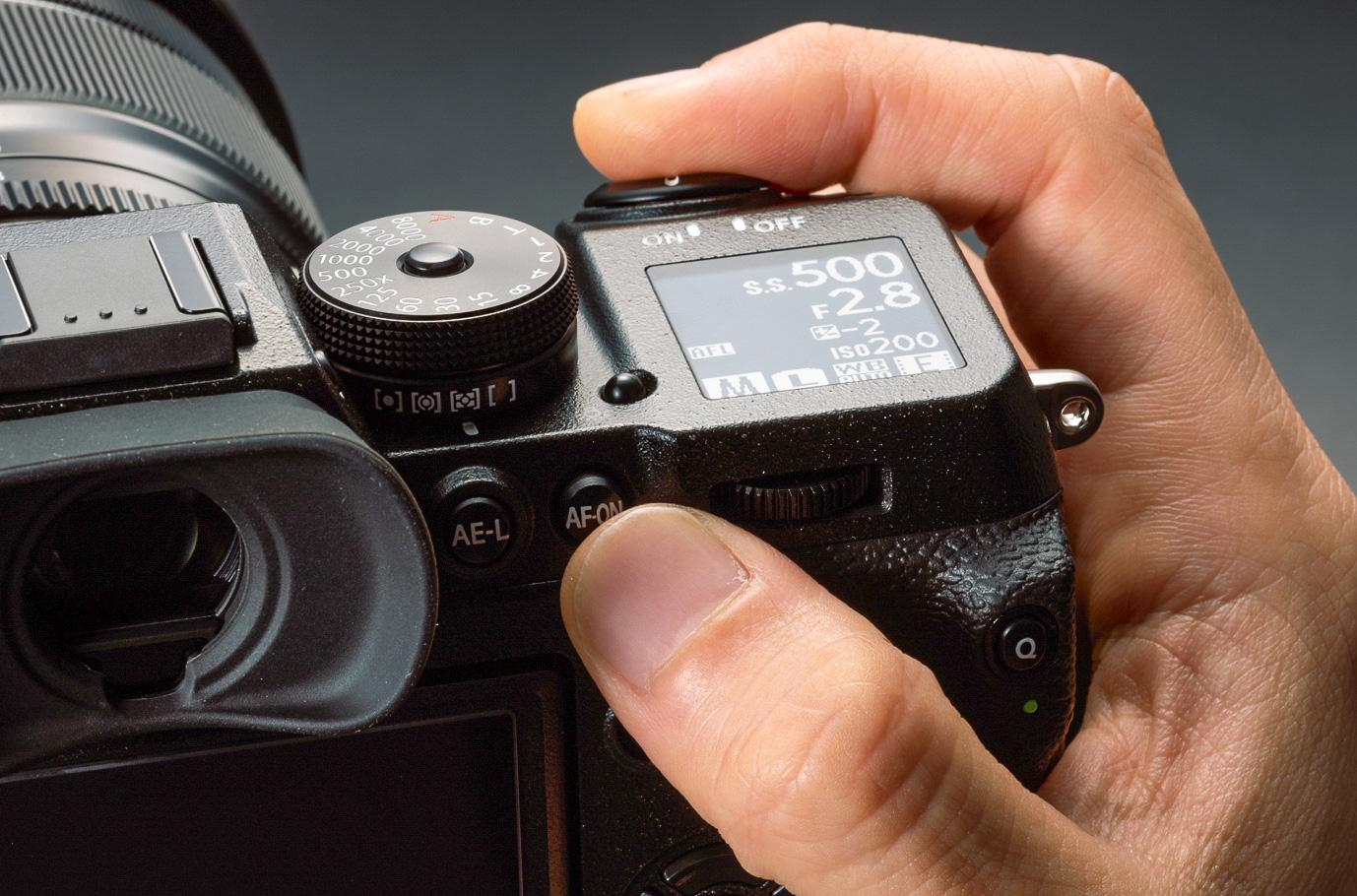 Fujifilm X-H1 Auslöser AF-On