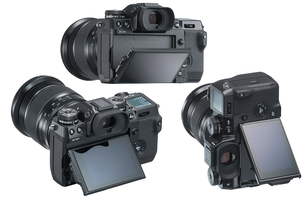 Fujifilm X-H1 Display