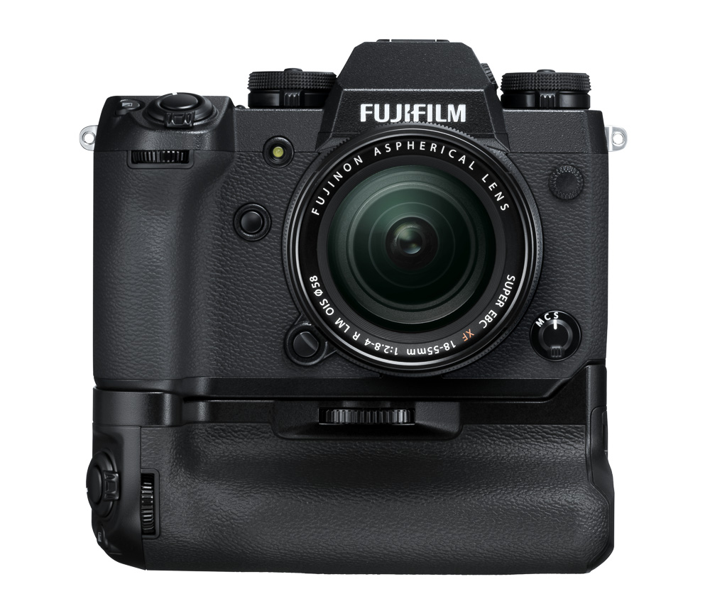 Fujifilm X-H1 mit VB-HX1