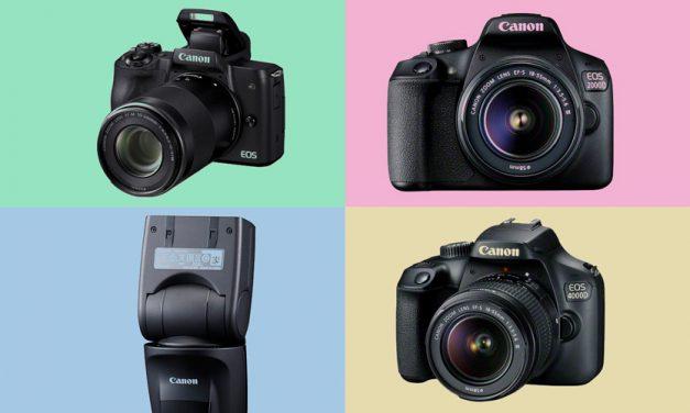 Neu von Canon: EOS M50 +++ EOS 2000D +++ EOS 4000D +++ Speedlite 470EX-AI