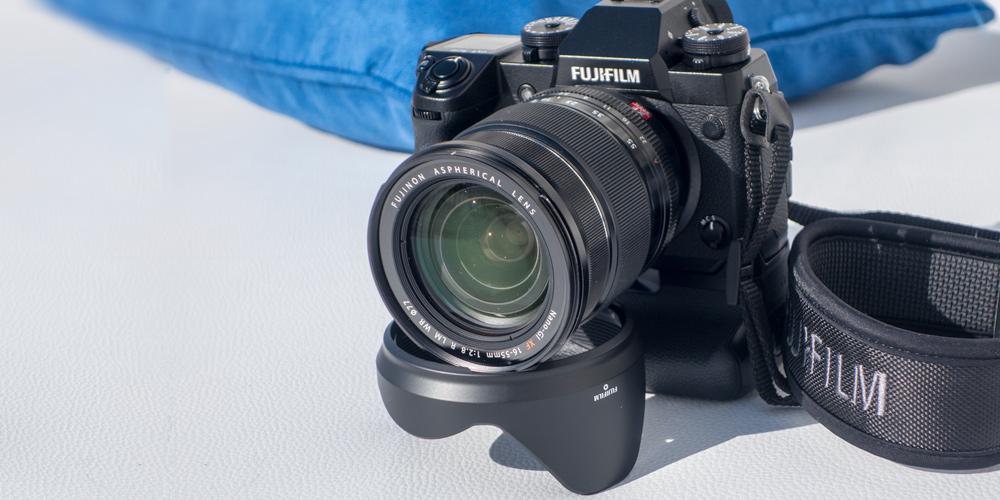 Schon ausprobiert: Fujifilm X-H1 mit integriertem Bildstabilisator