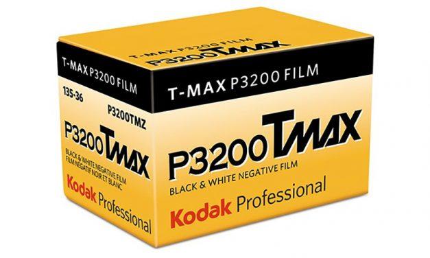 Kodak Alaris bringt Schwarzweißfilm T-Max P3200 zurück