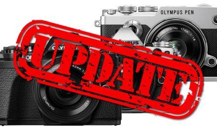 Olympus veröffentlicht umfangreiche Firmware-Updates für E-M1 Mark II, E-M5 Mark II und PEN-F