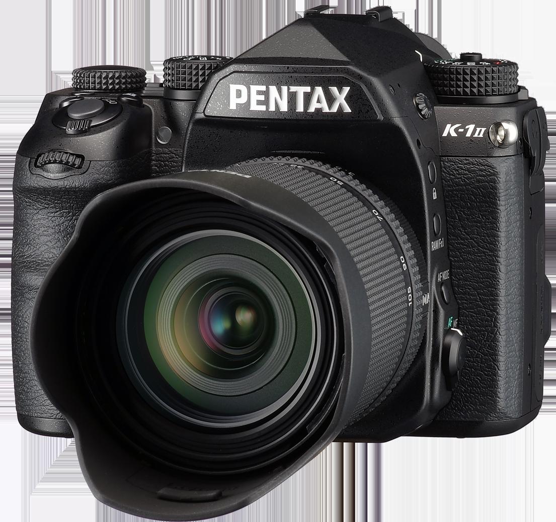 PENTAX K-1II front