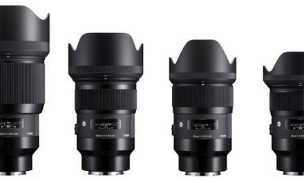 Sigma stellt neun Art-Objektive für Sony E-Mount in Aussicht