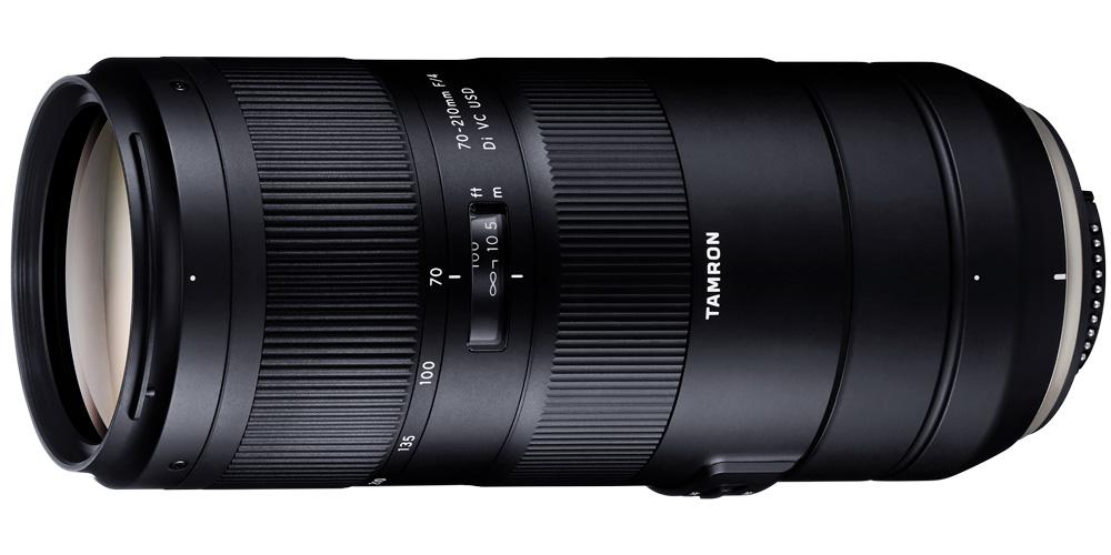 Tamron präsentiert Telezoom 70-210mm F/4 Di VC USD für Canon und Nikon