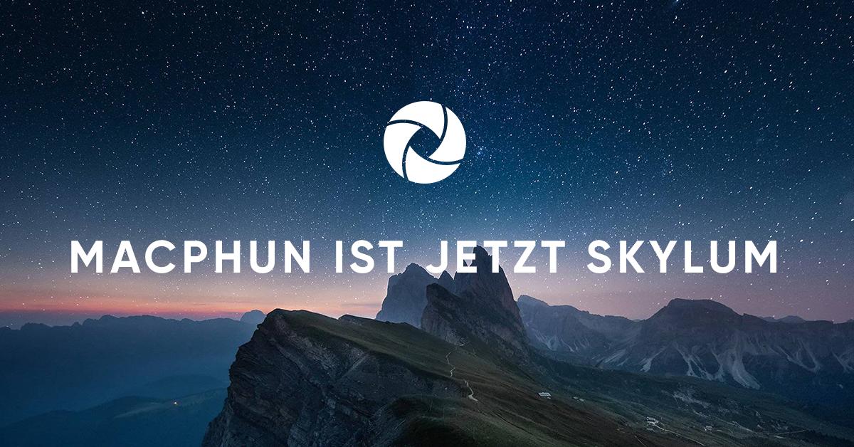 Macphun wird Skylum Software – weiterhin Rabatt auf Luminar und Aurora HDR