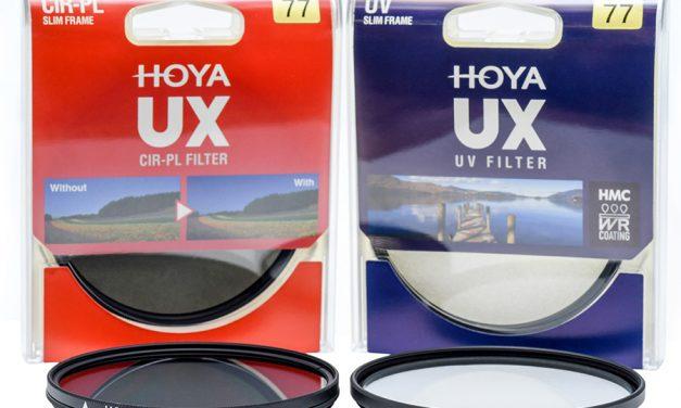 Neue Hoya-UX-Serie: Als Pol- und UV-Filter erhältlich