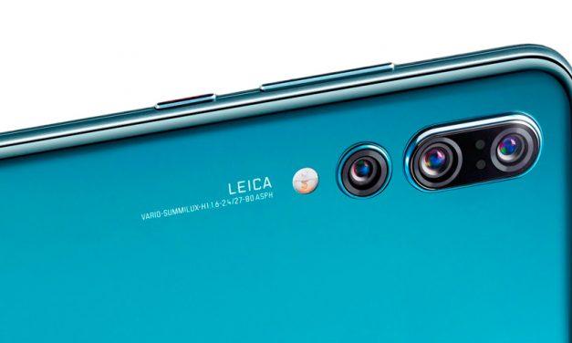 Huawei P20 Pro mit Dreifach-Kamera und Zoomobjektiv von Leica