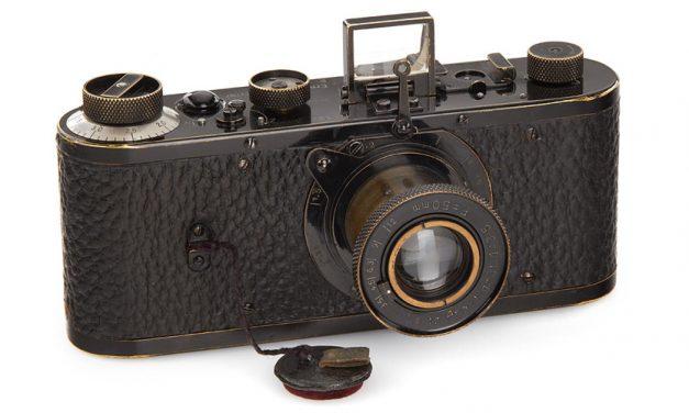 Rekordpreis: Leica-Prototyp für 2,4 Millionen Euro versteigert
