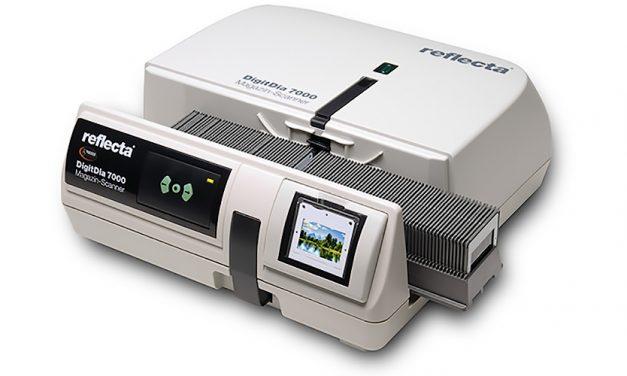 Diascanner Reflecta DigitDia 7000 mit höherer Auflösung und verbessertem Dynamikumfang
