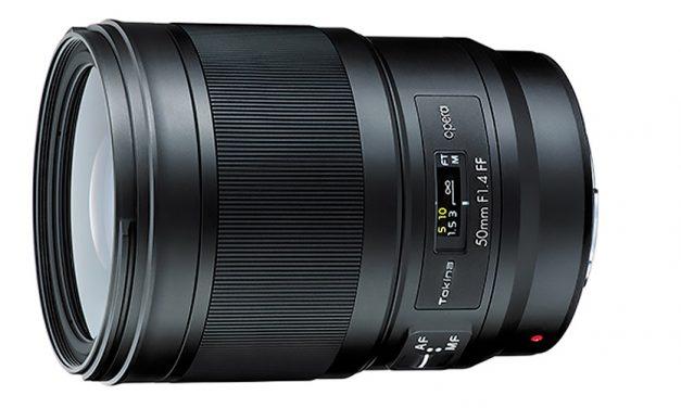 Tokina Opera 50mm F1.4 FF: Vorbote einer neuer High-End-Serie für Canon und Nikon