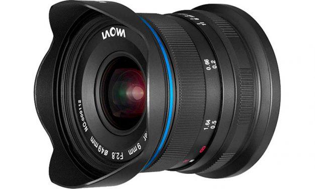 Für Spiegellose von Canon, Sony und Fuji: Laowa 9mm f/2,8 Zero-D