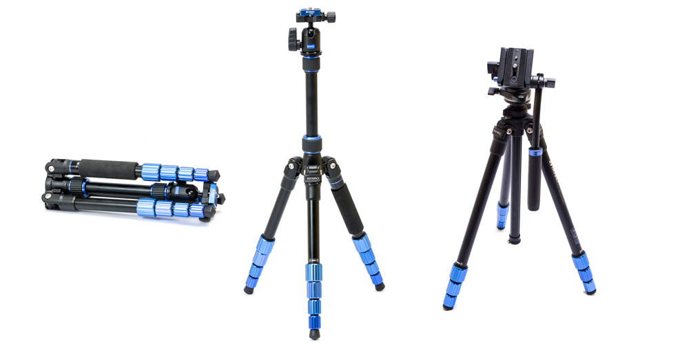 Benro präsentiert drei neue Kompakt-Stative