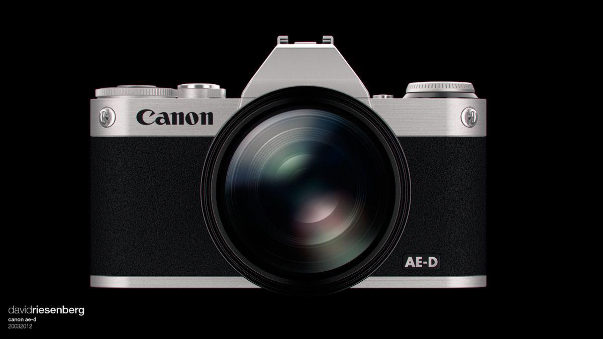 Canon MockUp by David Riesenberg