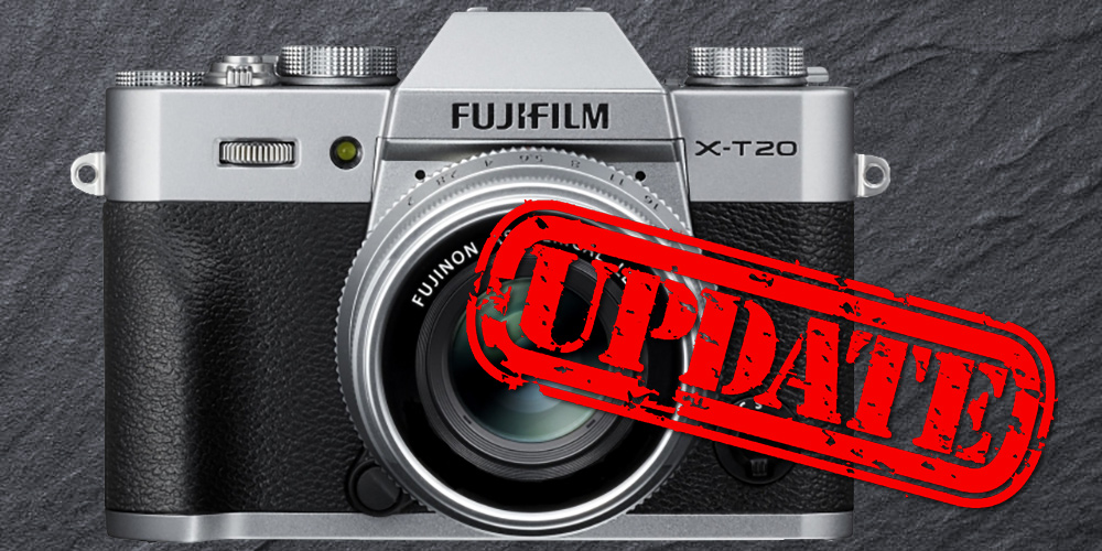 Fujifilm veröffentlicht Firmware 2.0 für X-T20