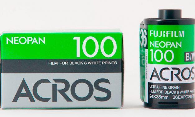 Fujifilm stellt Acros ein und verabschiedet sich komplett vom Schwarzweiß-Film
