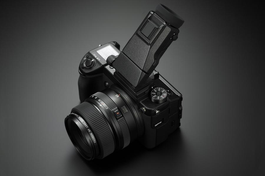 Fujifilm GFX 50S Klappsucher
