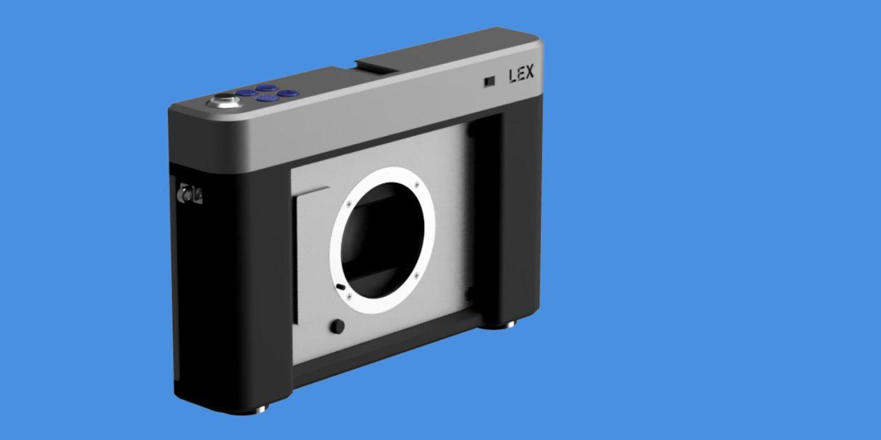 Für Sony E-Mount: Analoge Kamera LEX