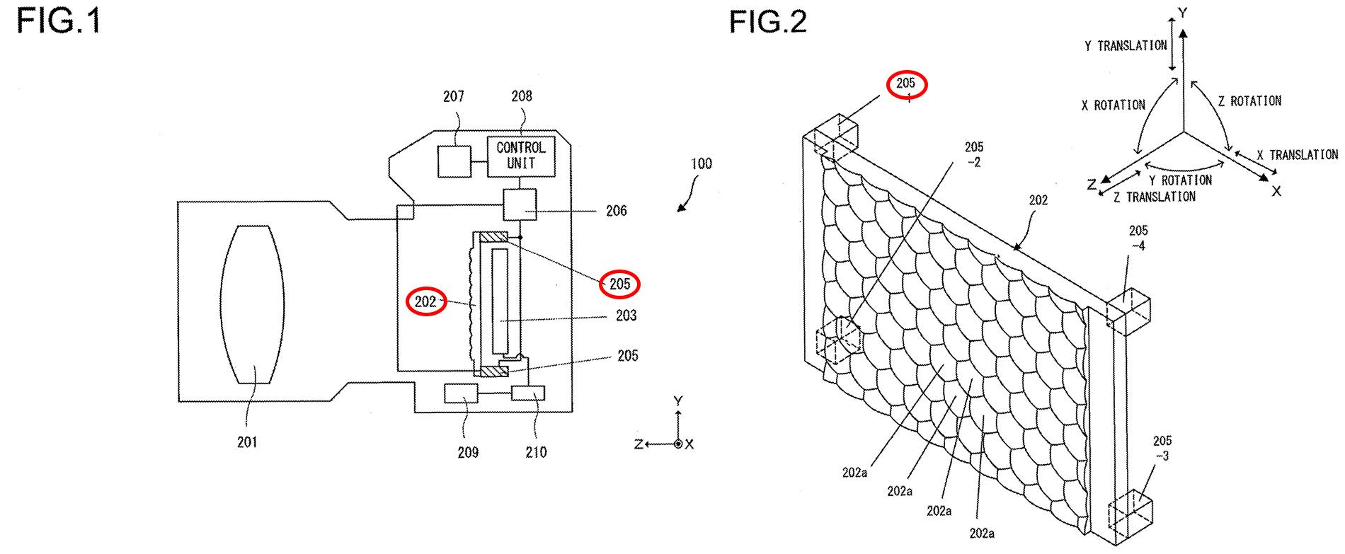 Nikon Stabi Patent