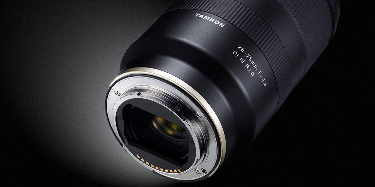 Tamron 28-75mm F/2.8 Di III RXD für Sony E-Bajonett im Anmarsch