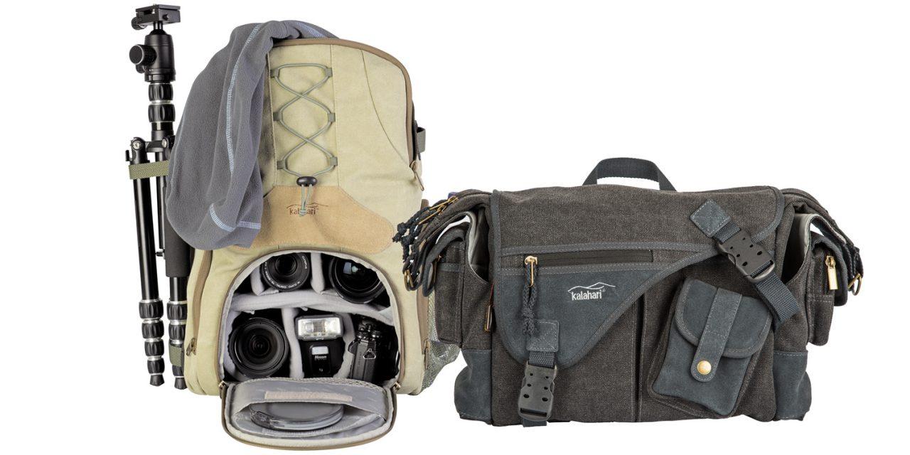 Neue von Kalahari: Kapako-Rucksack und -Fototasche