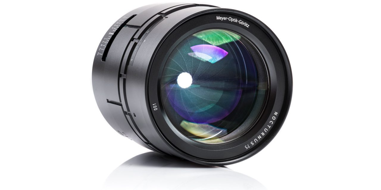 Kommt bald: Lichtriese Nocturnus 0,95/75mm für Sony, Fuji und Leica von Meyer-Optik-Görlitz