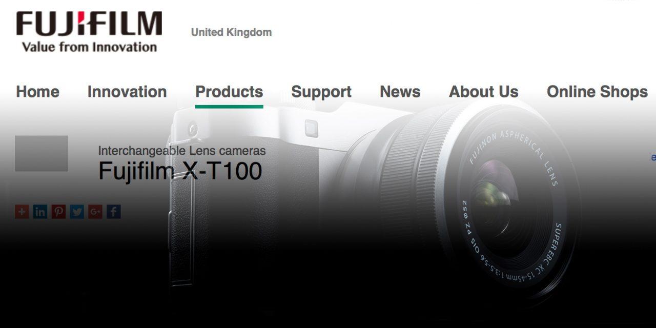 Datenleck enthüllt: Fujifilm bringt X-T100 mit EVF