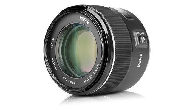Meike präsentiert Porträtobjektiv MK 85mm F1.8 für Canon, Nikon und Sony