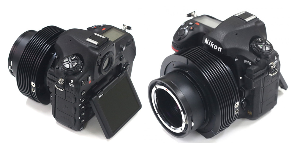 Nikon D850 Astro mit aktiv gekühltem Bildsensor