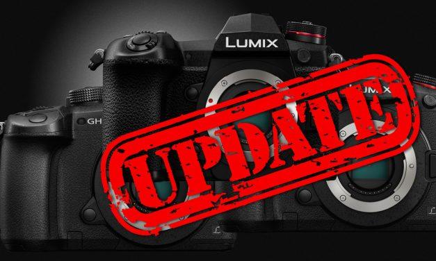 Umfangreiche Firmware-Updates für Panasonic GH5, GH5S und G9 veröffentlicht