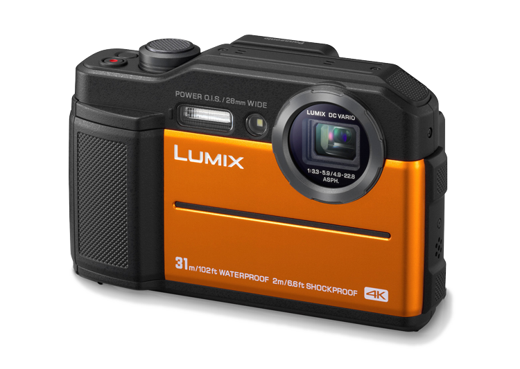 Panasonic-LUMIX-FT7-slant-orange