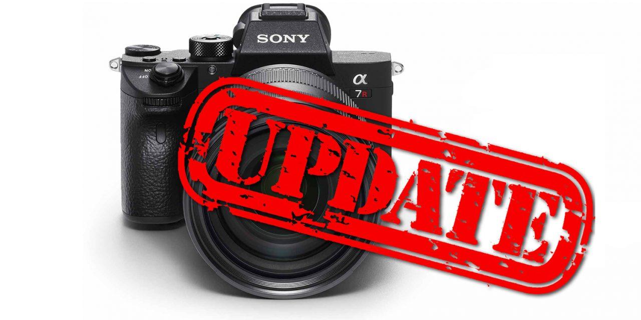 Alpha 7R III: Sony veröffentlicht Firmware-Update auf Version 1.10