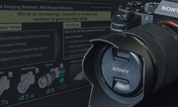 Sony will bis 2020 Nr. 1 unter den Kameraherstellern werden