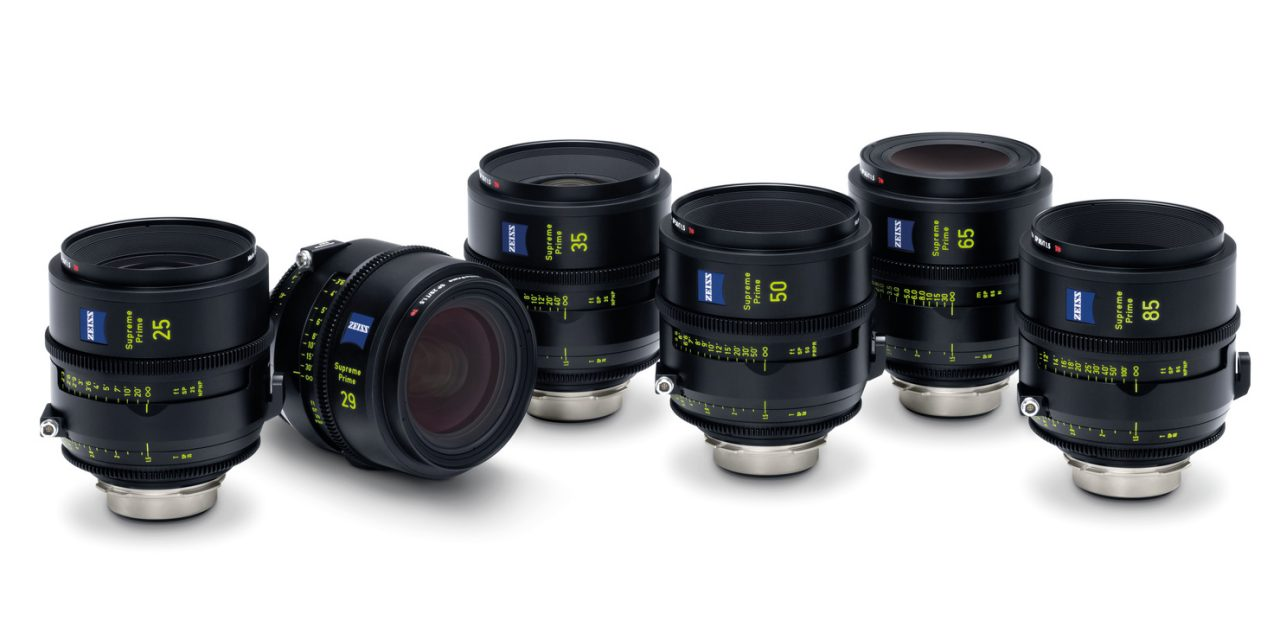 Zeiss präsentiert High-End-Cine-Objektive Supreme Prime