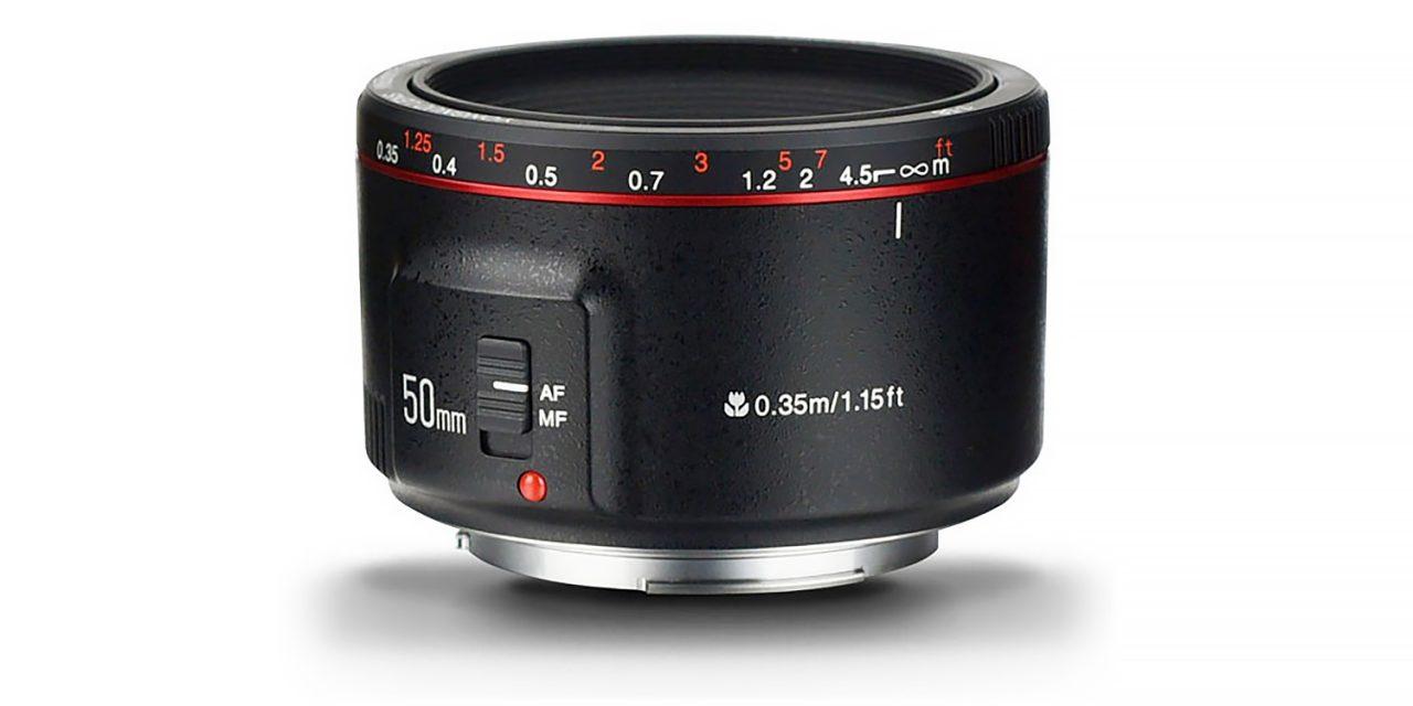 Neuheit von Yongnuo: Normalobjektiv YN 50mm f/1.8 II für Canon