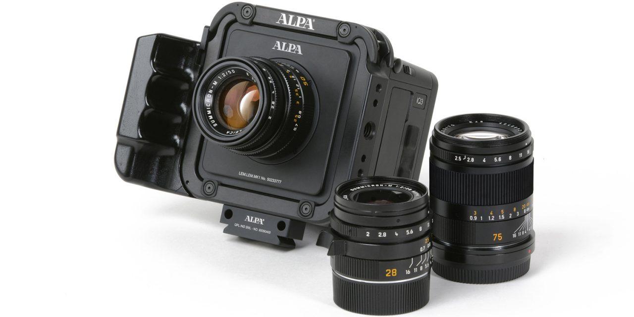 "Alpa bringt ""Lens Modul"" für Leica-M-Objektive"