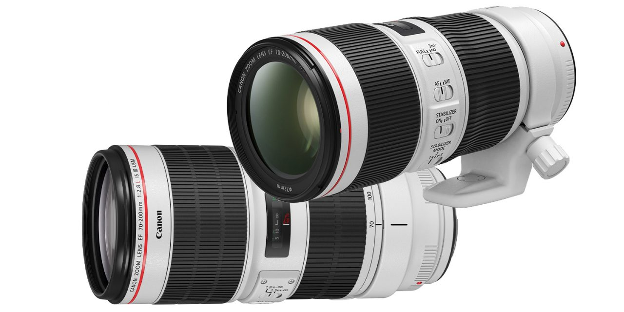 Runderneuert: Canon EF 70-200mm f/4L IS II USM und EF 70-200mm f/2.8L IS III USM