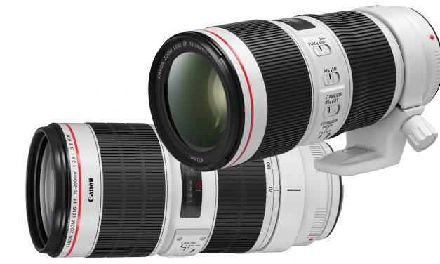 Runderneuert: Canon EF 70-200mm f/4L IS II USM und EF 70-200mm f/2.8L IS III USM