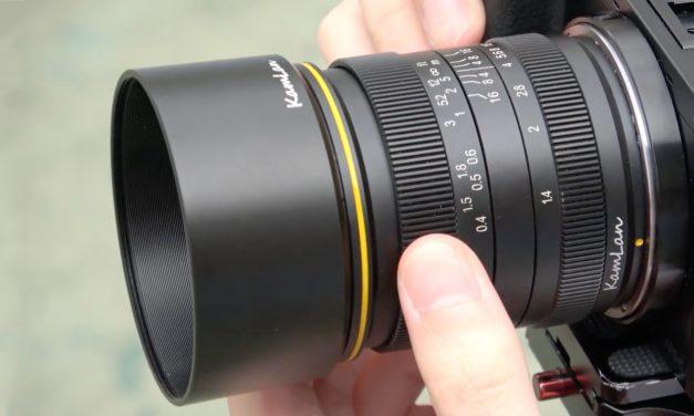 Kamlan 28mm F1.4 für APS-C: Vorbote weiterer Halbformat-Objektive