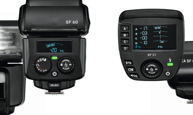Leica präsentiert Blitzgerät SF 60 mit passender Fernsteuerung