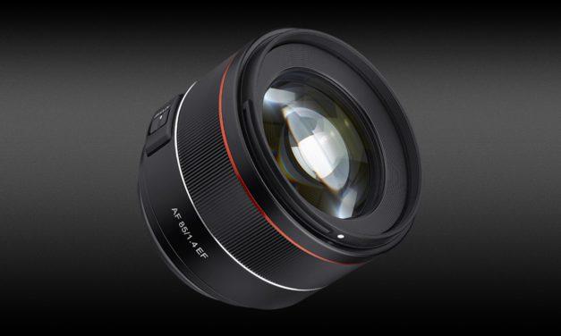 Neu von Samyang: AF 85mm F1.4 EF für Canon