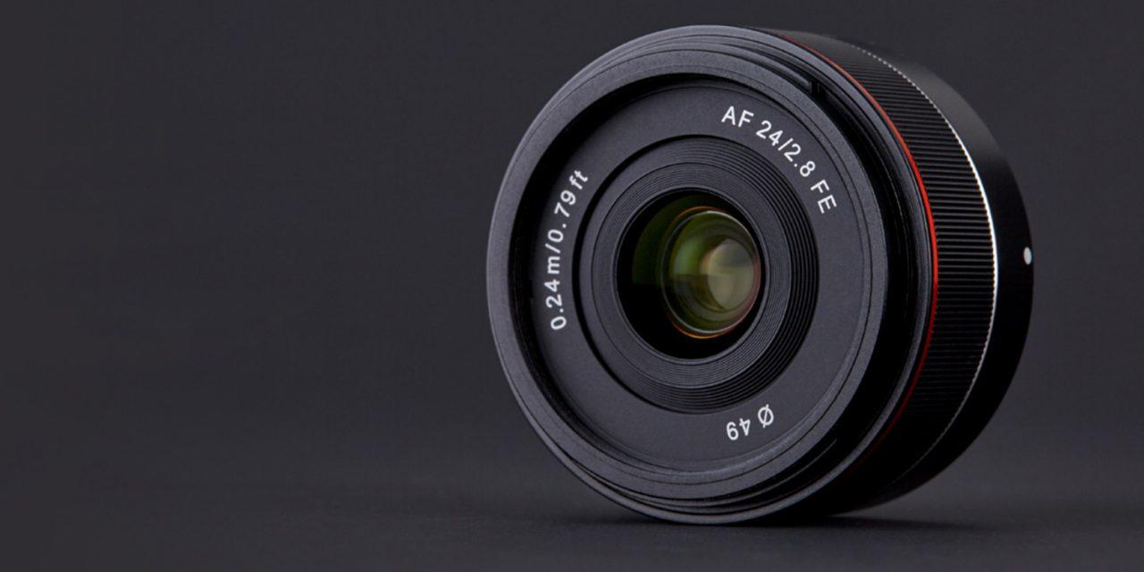 Samyang kündigt AF 24mm F2.8 FE für Sony an